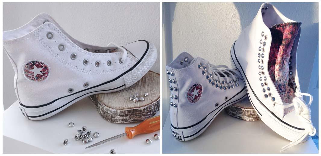 scarpe personalizzate borchie
